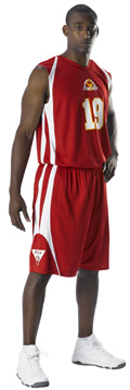 Adult Reversible Basketball Uniform Package with Graphics