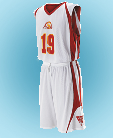Youth Reversible Basketball Uniform Package with Graphics