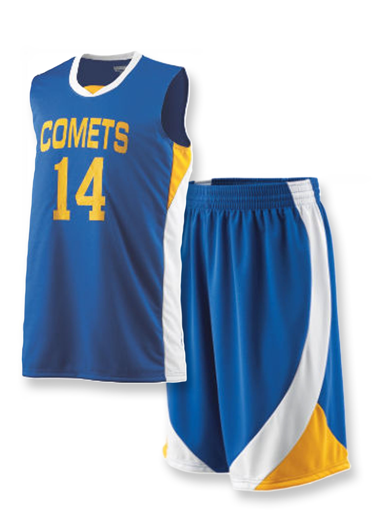 Youth Team Basketball Uniform Package with Graphics