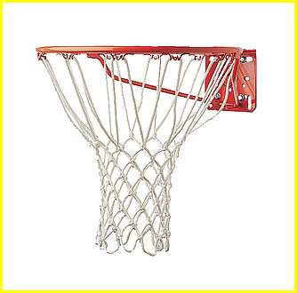 Basketball Net, 5mm Deluxe Net. No Whip action, CS-407