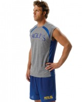 A4 Adult Color Block Performance Muscle Tee N2347
