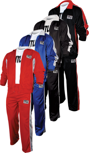 Title Boxing Warm Up Suit Boxing Clothes Boxing