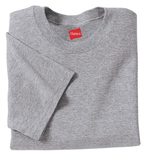Hanes - Youth Tagless 100% Cotton T-Shirt. 5450