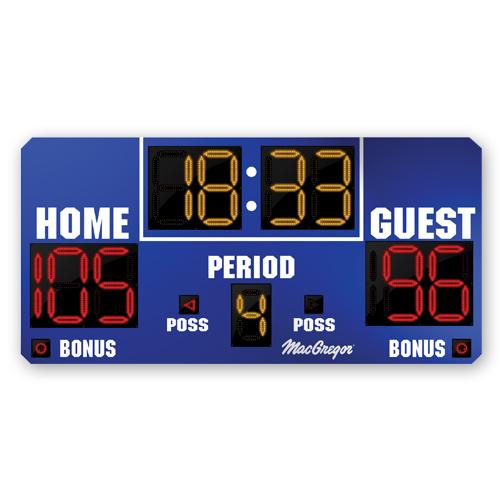MacGregor 8 X 4 Basketball Scoreboard